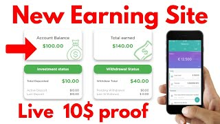 New Bitcoin Earning Site Launch HourBit Review 10$ Live Instant Proof 2020 Hindi / Urdu