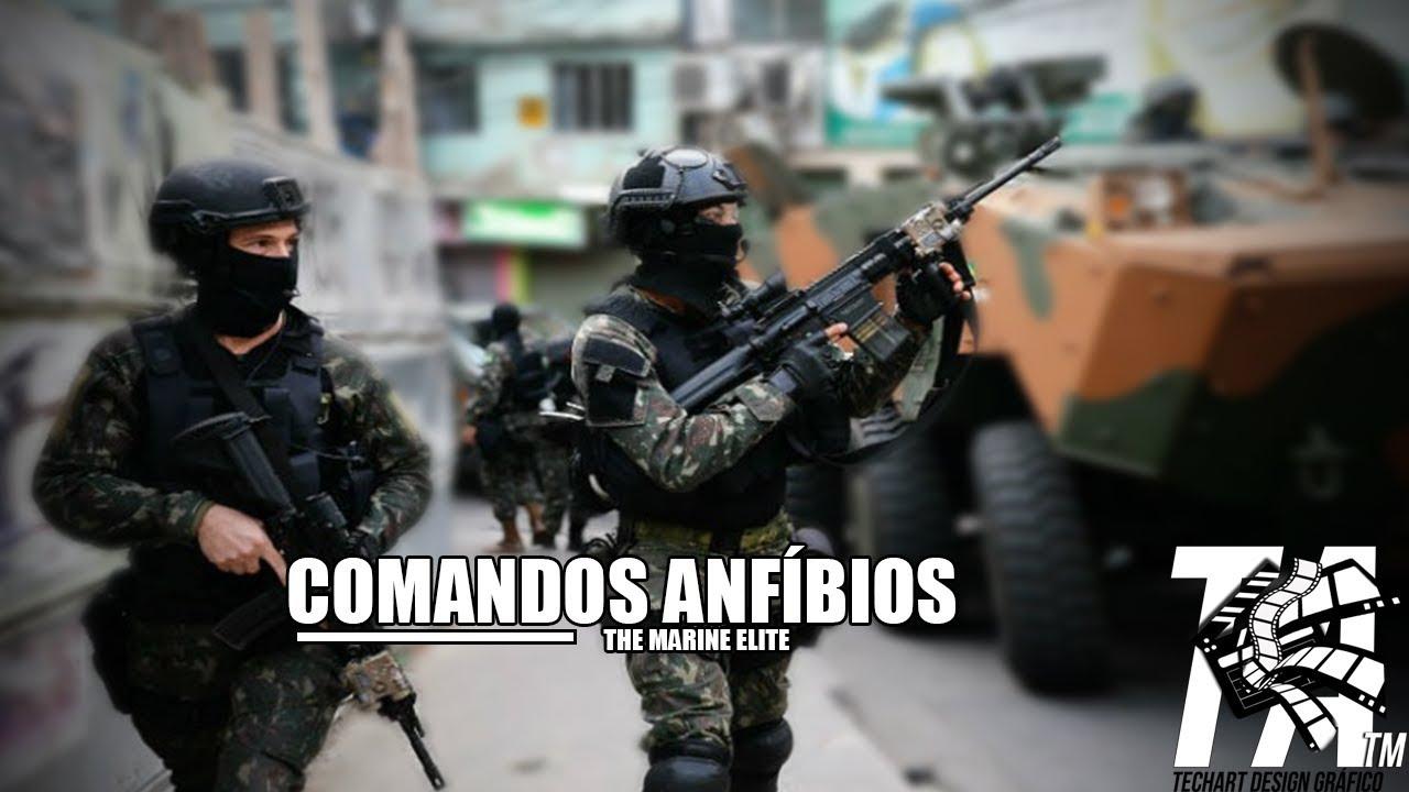 Batalhão COMANF - Comandos Anfíbios A Elite Da Marinha