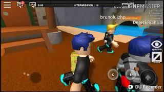 Roblox jouant avec mon ami 🎮