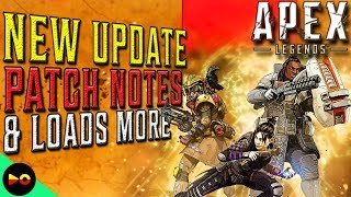ALL THE FIXES!!! FULL PATCH NOTES | Apex Legends: Latest Update News (Slow After Rez & Crash Fixes)