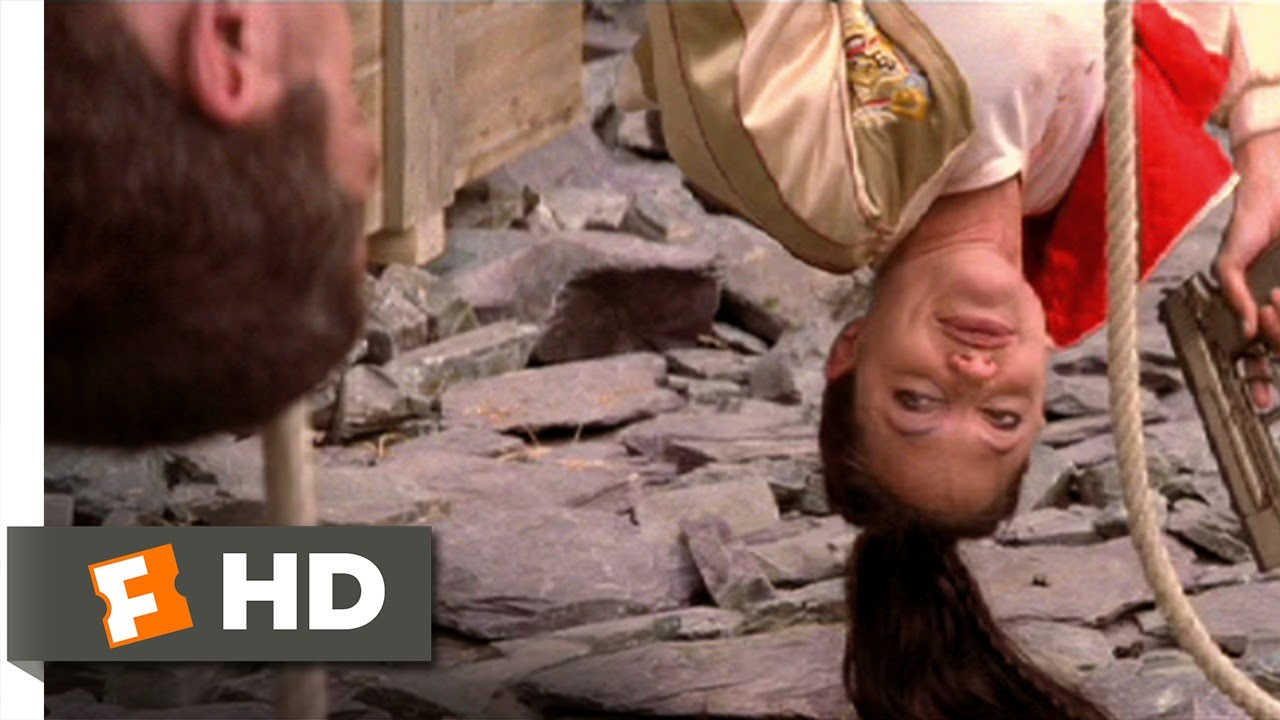 Download Lara Croft Tomb Raider 2 (4/9) Movie CLIP - Rope Descent Shootout (2003) HD