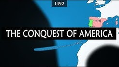 European conquest of the Americas - summary since mid-15th century