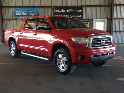 Awesome 2008 Toyota Tundra Limited Crew Max Review