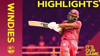 Simmons Hits 91* off 40 As Windies Level The Series! | Windies vs Ireland 3rd T20I 2020 - Highlights