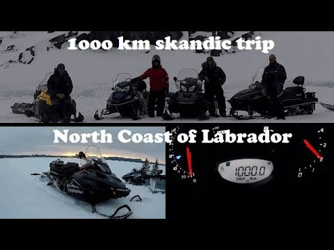 1000 km trip on my Skandic SWT