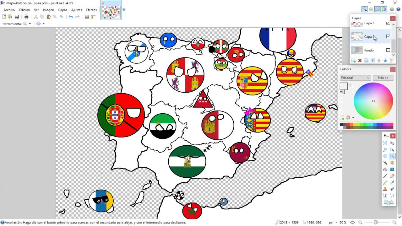 Map Of Spain Drawing.Drawing Map Of Spain Part 3 Other Countries And Dialogues Youtube