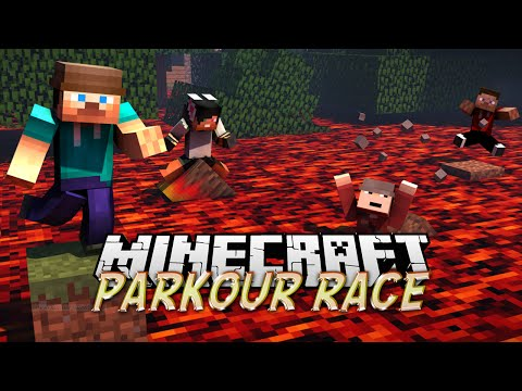 Minecraft: DAMN PRESSURE PLATES - SPRINT Race with Saul & Potato