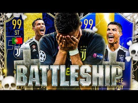 TOTS vs TOTY RONALDO BATTLESHIP WAGER 🚿🚨 RIP BRUDER 😱 FIFA 19