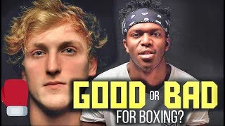 Was KSI vs. Logan Paul good or bad for boxing? The boxers answer