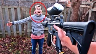 SCARY PAINTBALL CHALLENGE!!!