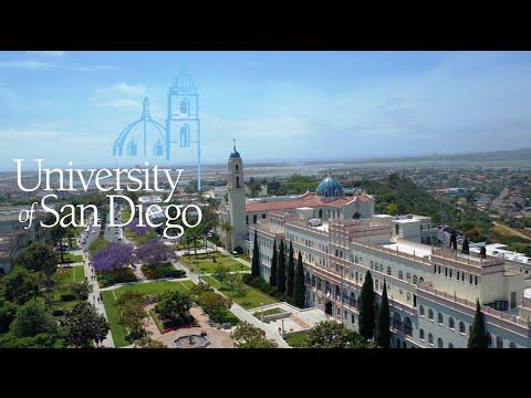 University of San Diego Tour
