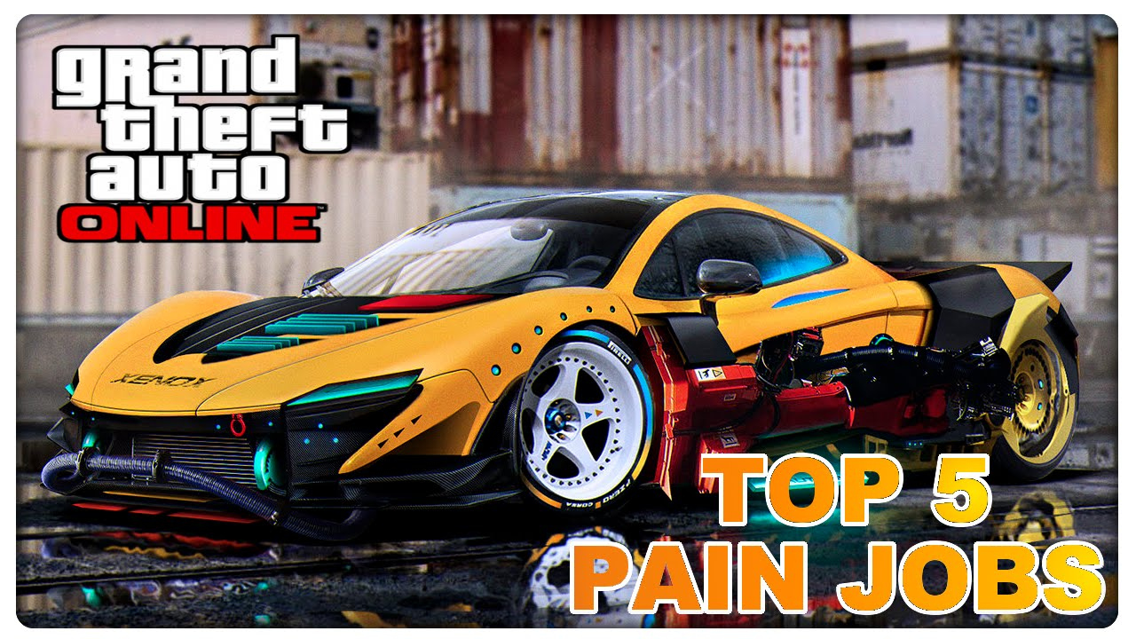 GTA 5 - Top 5 Best Rare Paint Jobs Online - Extrem Geil | Rare Cars ...