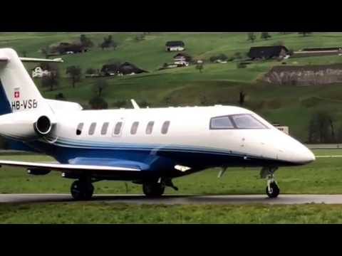Pilatus PC-24 HB-VSB Business Class Jet BUOCHS SWISS Repaint Landing