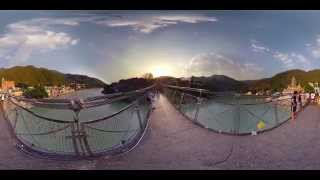 360° degree video - First 360° virtual tour of India, Himalayas, Rishikesh
