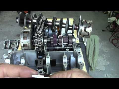 73 Honda CB750 Custom Build Episode 10 - Forged Aluminum Connecting Rod Installation
