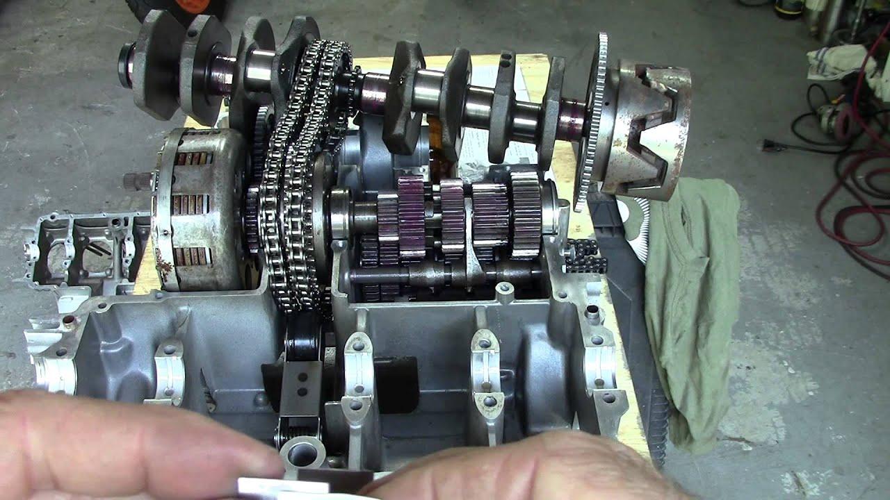 73 Honda CB750 Custom Build Episode 10  Fed Aluminum Connecting Rod Installation  YouTube