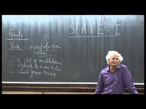 Mod-01 Lec-07 State-I: Definition of state