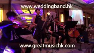 Over The Rainbow Saxophone String Trio 色士風弦樂三重奏 Wedding Live Band HK Hong Kong 香港婚禮現場樂隊 New World Mi