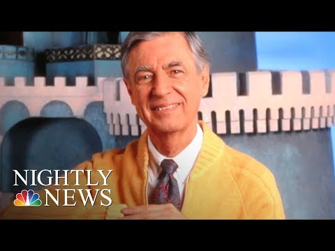 Mister Fred Rogers' Neighborhood Turns 50 | NBC Nightly News