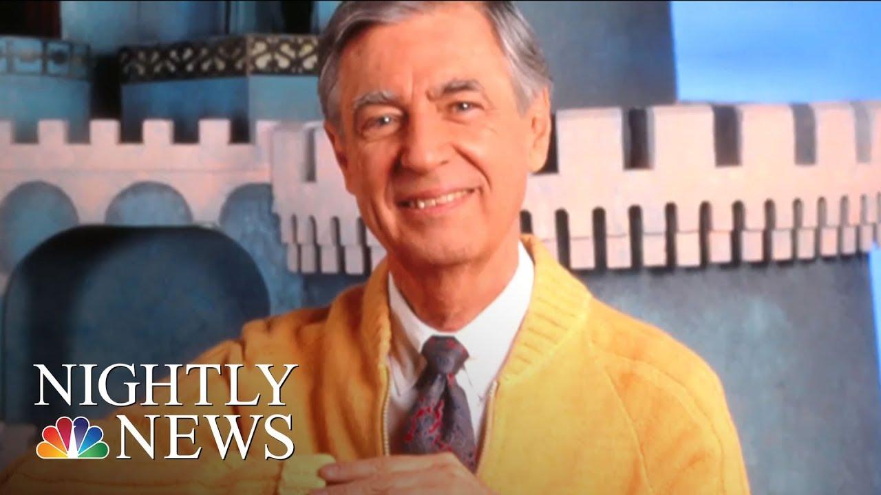 Mister Fred Rogers Neighborhood Turns 50 Nbc Nightly News Youtube