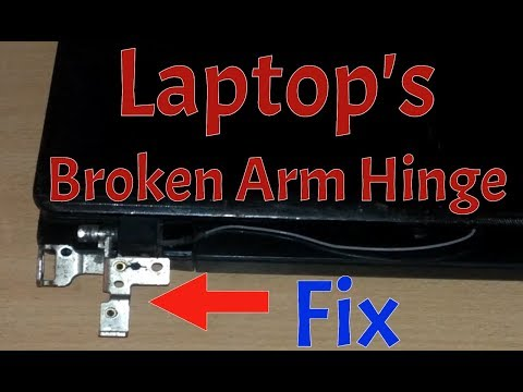 How to Fix a Broken Laptop Screen Arm Hinge I 2018