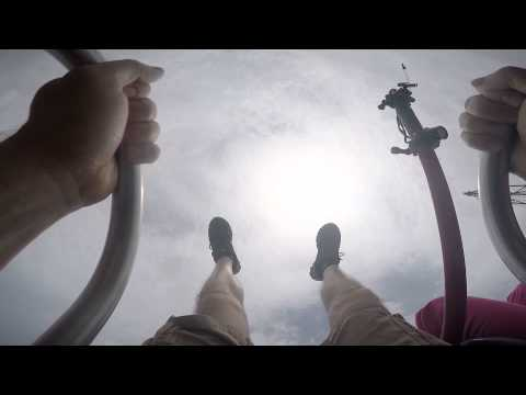 Slingshot ride at Myrtle Beach GoPro MDS