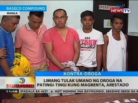 BT: Limang Tulak Umano Ng Droga Na Patingi-tingi Kung Magbenta, Arestado