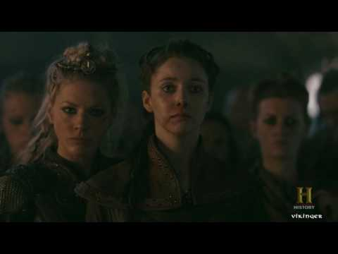 Vikings - Lagertha Tortures Egil The Bastard [Season 4B Official Scene] (4x19) [HD]