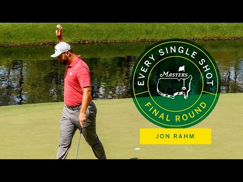 Every Shot From Jon Rahm's Final Round | The Masters