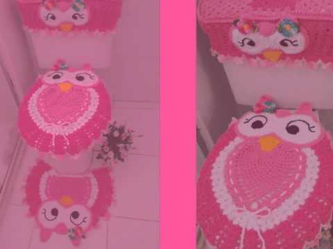 Tapete de coruja feliz rosa