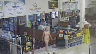 Repeat youtube video Woman Shops Naked in New York!