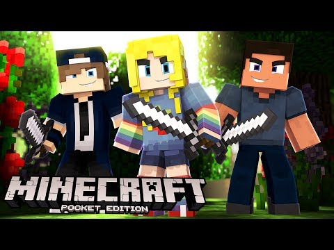 Minecraft PE, XBOX, & Windows 10 W/ Fans!   Minecraft Realms #1
