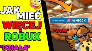 How to get more robux! Are there * ROBUX FOR FREE *! Roblox PL