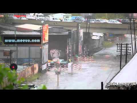 Epic Train VS Flood - YouTube