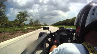 RealStreetPerformance, RSP Turbo Honda K20 Ariel Atom 650 hp. video #2 Fastest in World. Spin out :)