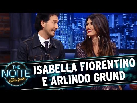 The Noite (11/08/15) - Entrevista Com Arlindo Grund E Isabella Fiorentino