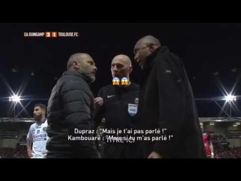 CHOQUANT ÉCHANGE😱‼️ ENTRE Dupraz et Antoine Kombouaré