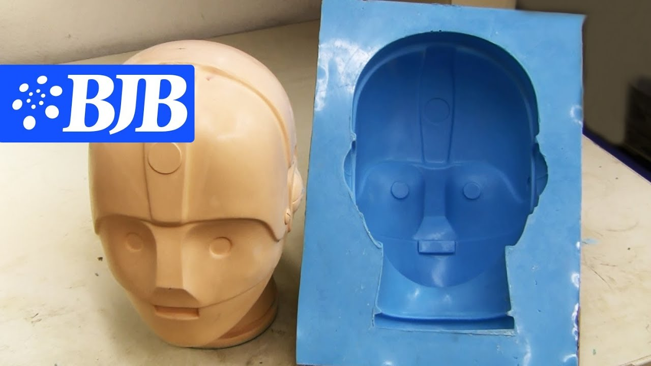 How To Silicone Mold Amp Casting Flexible Foam Youtube