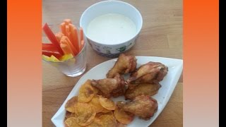 Chicken Wings Mit Käse Dip / Rezept / Tutorial
