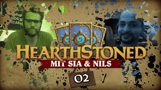 [2/3] Hearthstone: Heroes Of Warcraft mit Sia und Nils | Hearthstoned | 08.09.2015