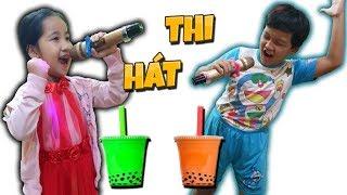 Tony   Cuộc Thi Hát Karaoke Uống Trà Sữa - Singing Contest