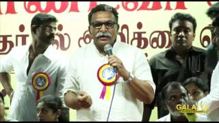 Nassers reply for Sarath Kumar with regards to  Kamal Haasan