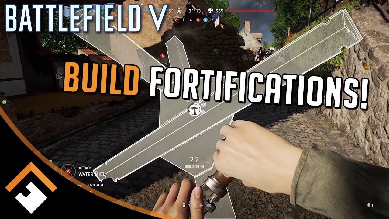 Battlefield V: How to Build Fortifications