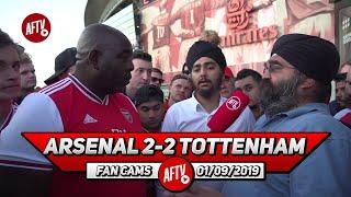 Arsenal 2-2 Tottenham  | Both Of Spurs' Goals Came From Sloppy Errors!