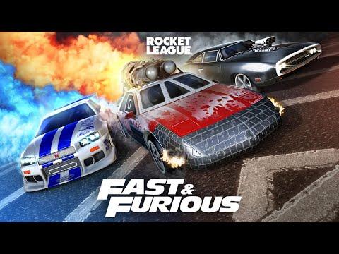Rocket League® - Fast \u0026 Furious Bundle Trailer
