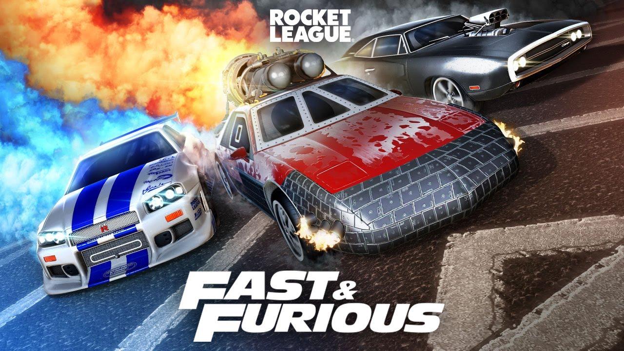 Rocket League® - Fast & Furious Bundle Trailer
