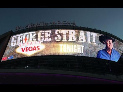 45 Minutes With George Strait - Strait To Vegas Dec 2016