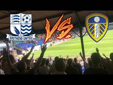 SOUTHEND UNITED vs LEEDS UNITED *VLOG* - GETTING BETTER BUT NOT THERE YET......