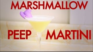 How To Make An Easter Marshmallow Peeps Martini-drinks Made Easy