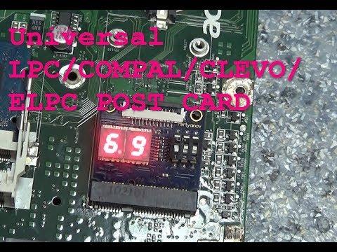 Universal LPC/ELPC/Compal/Clevo DEBUG CARD